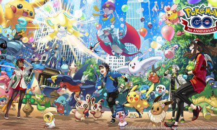 Tři roky Pokémon GO